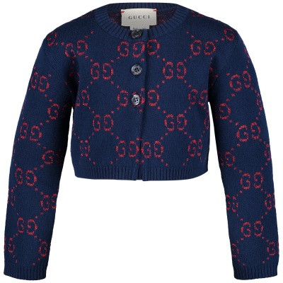 Picture of Gucci 544406 baby vest blue