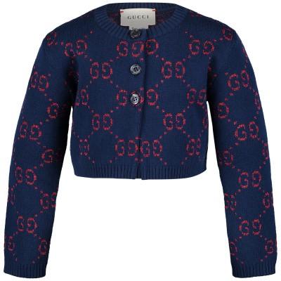 Afbeelding van Gucci 544406 baby vest blauw