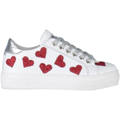 Afbeelding van Miss Grant S3SN0046 kindersneakers wit