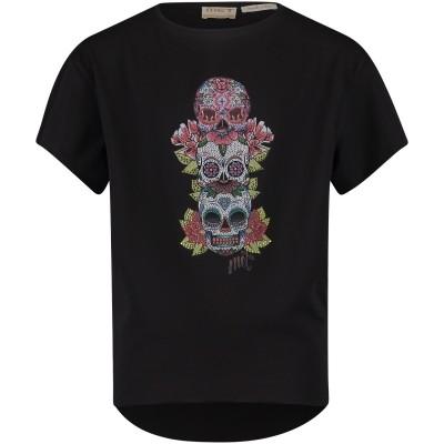 Afbeelding van MET 16GMC0016 kinder t-shirt zwart