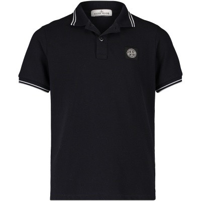Picture of Stone Island 691621348 kids polo shirt navy