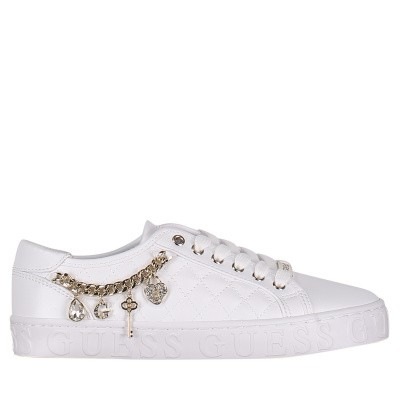 Picture of Guess FL6GRSELE12 womens sneakers white