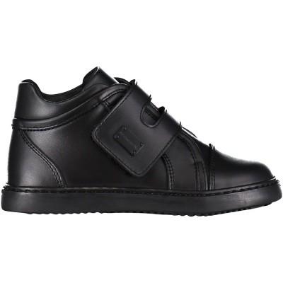 Afbeelding van Dolce & Gabbana DN0091 kindersneakers zwart