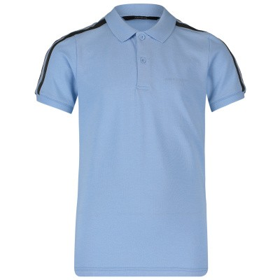 Picture of Airforce B0563 kids polo shirt light blue
