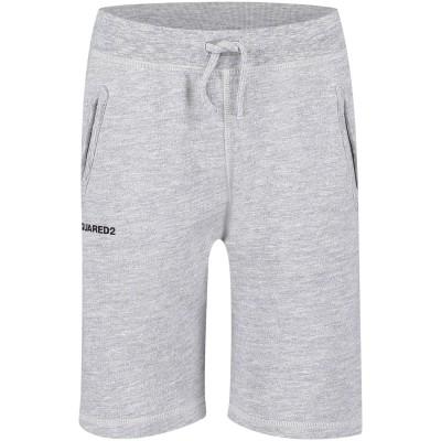 Afbeelding van Dsquared2 DQ02NL kinder shorts grijs