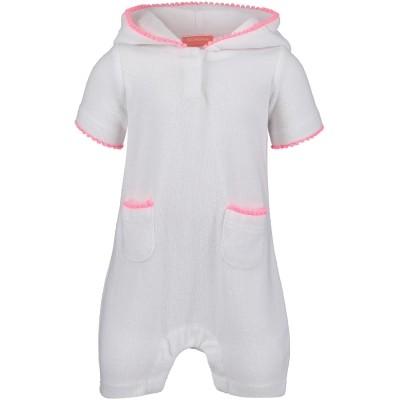 Afbeelding van Sunuva BG8535W baby onesie wit