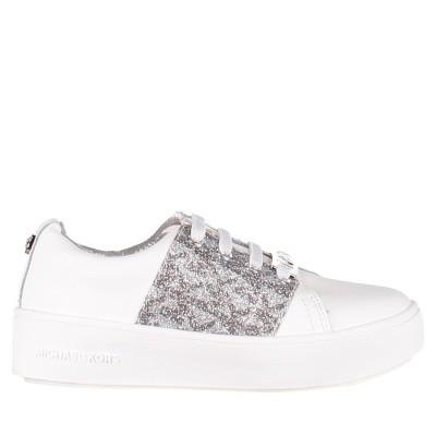 Picture of Michael Kors MAVENMIKA kids sneakers white