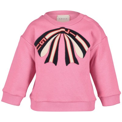 Picture of Gucci 518781 baby sweater pink