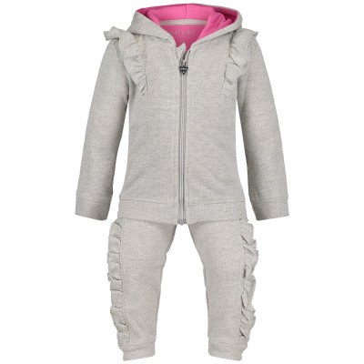 Picture of Guess A91G07 baby sweatsuit light gray