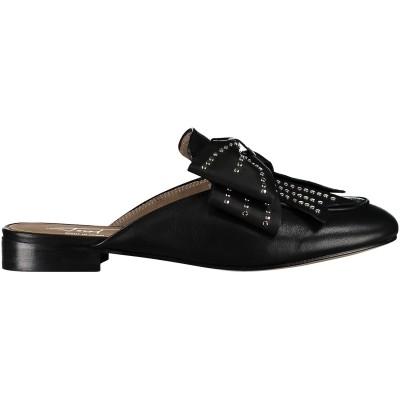 Afbeelding van Toral 10820 dames slippers zwart