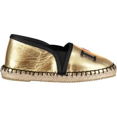 Afbeelding van Dolce & Gabbana D10693 kinder espadrilles goud
