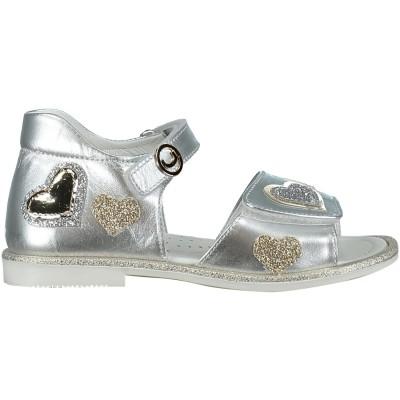 Afbeelding van Coccinelle 2676 kinder sandalen zilver
