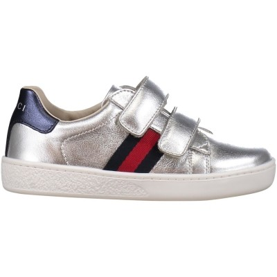 cc1159d3c42 Picture of Gucci 455447 DXD60 kids sneaker silver