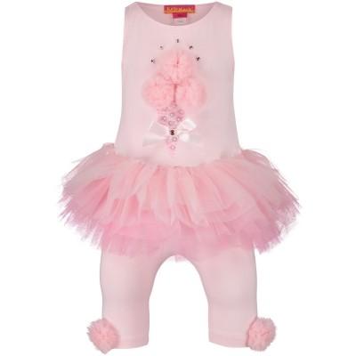 Afbeelding van Kate Mack 520 baby jurkje licht roze