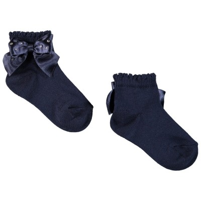 Picture of Story Loris 8521 baby sock navy