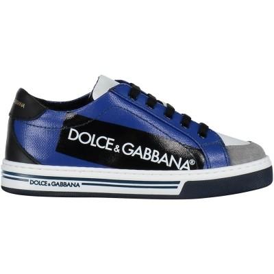 Afbeelding van Dolce & Gabbana DA0637 kindersneakers cobalt blauw