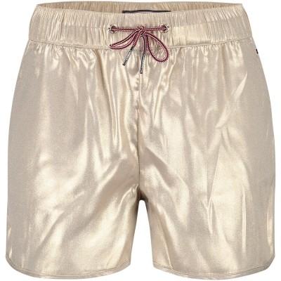 Afbeelding van Tommy Hilfiger KG0KG03608 kinder shorts goud