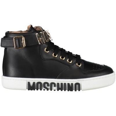 Afbeelding van Moschino 25986 kindersneakers zwart