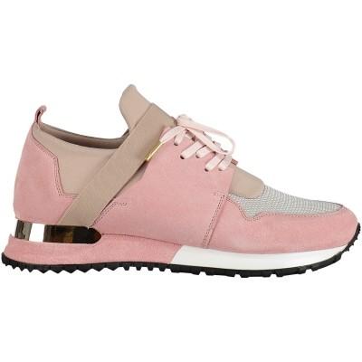 Afbeelding van Mallet ELAST WOMEN dames sneakers licht roze