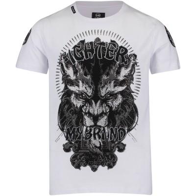 Afbeelding van My Brand BMBTS001MT043 kinder t-shirt wit