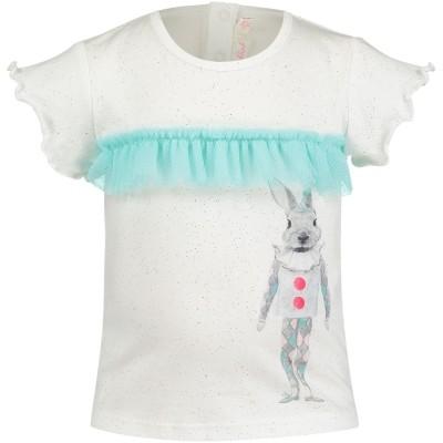 Afbeelding van Billieblush U05252 baby t-shirt off white