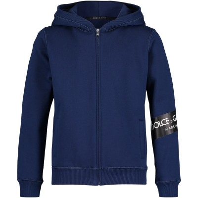 Afbeelding van Dolce & Gabbana L4JW2L kindervest cobalt blauw