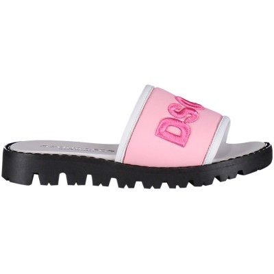 Afbeelding van Dsquared2 54192 kinder sandalen licht roze