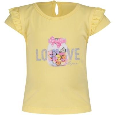 Afbeelding van Lapin 81E2349 baby t-shirt geel