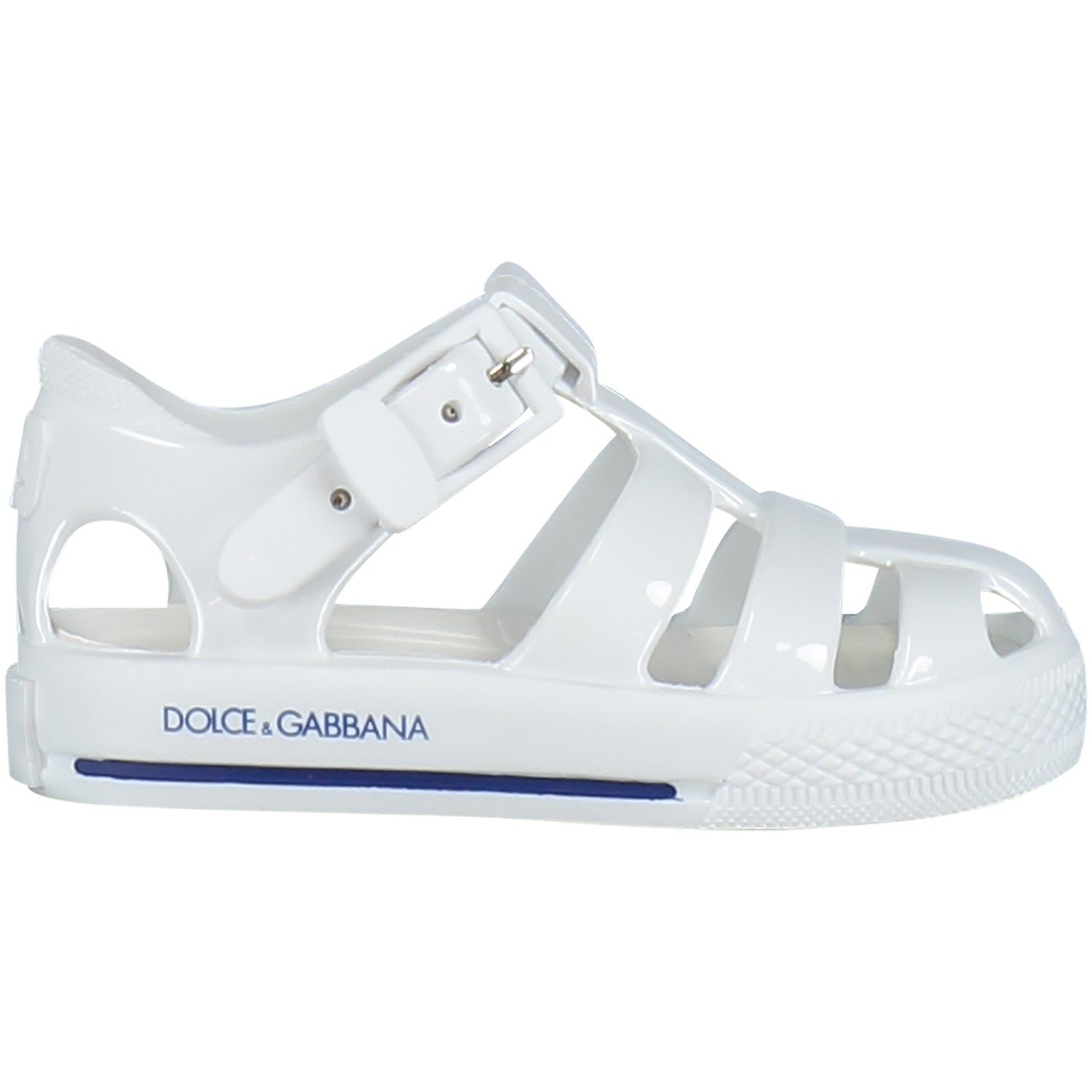 Picture of Dolce & Gabbana DN0013 kids sandal white