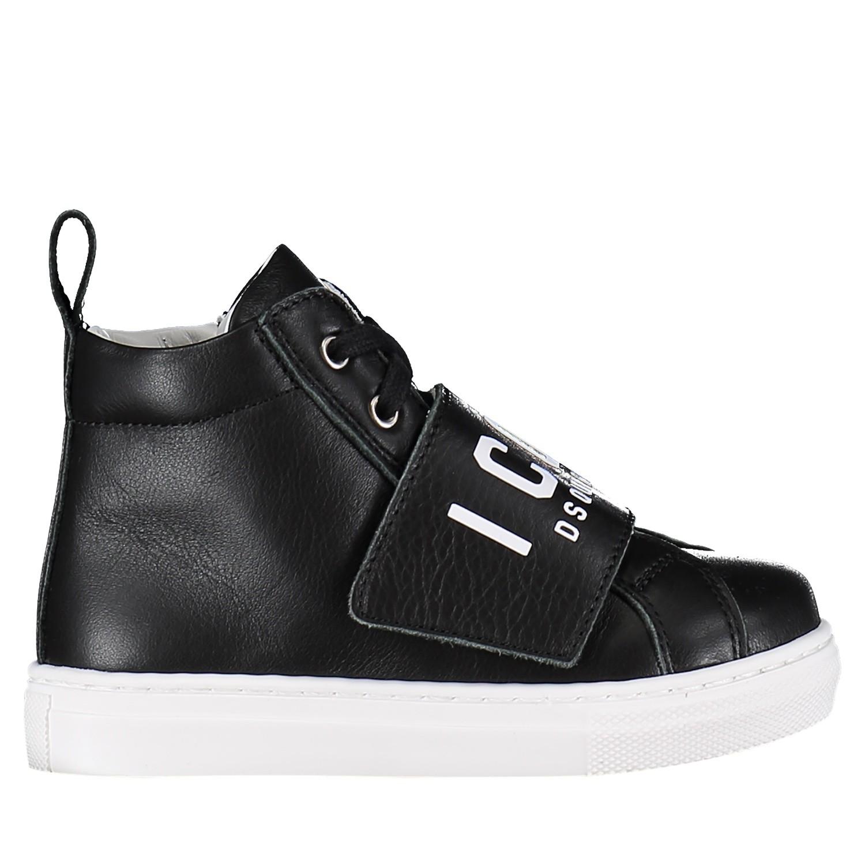 Afbeelding van Dsquared2 57012 kindersneakers zwart