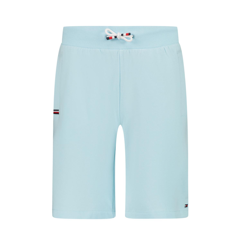 Afbeelding van Tommy Hilfiger KB0KB06597 kinder shorts turquoise