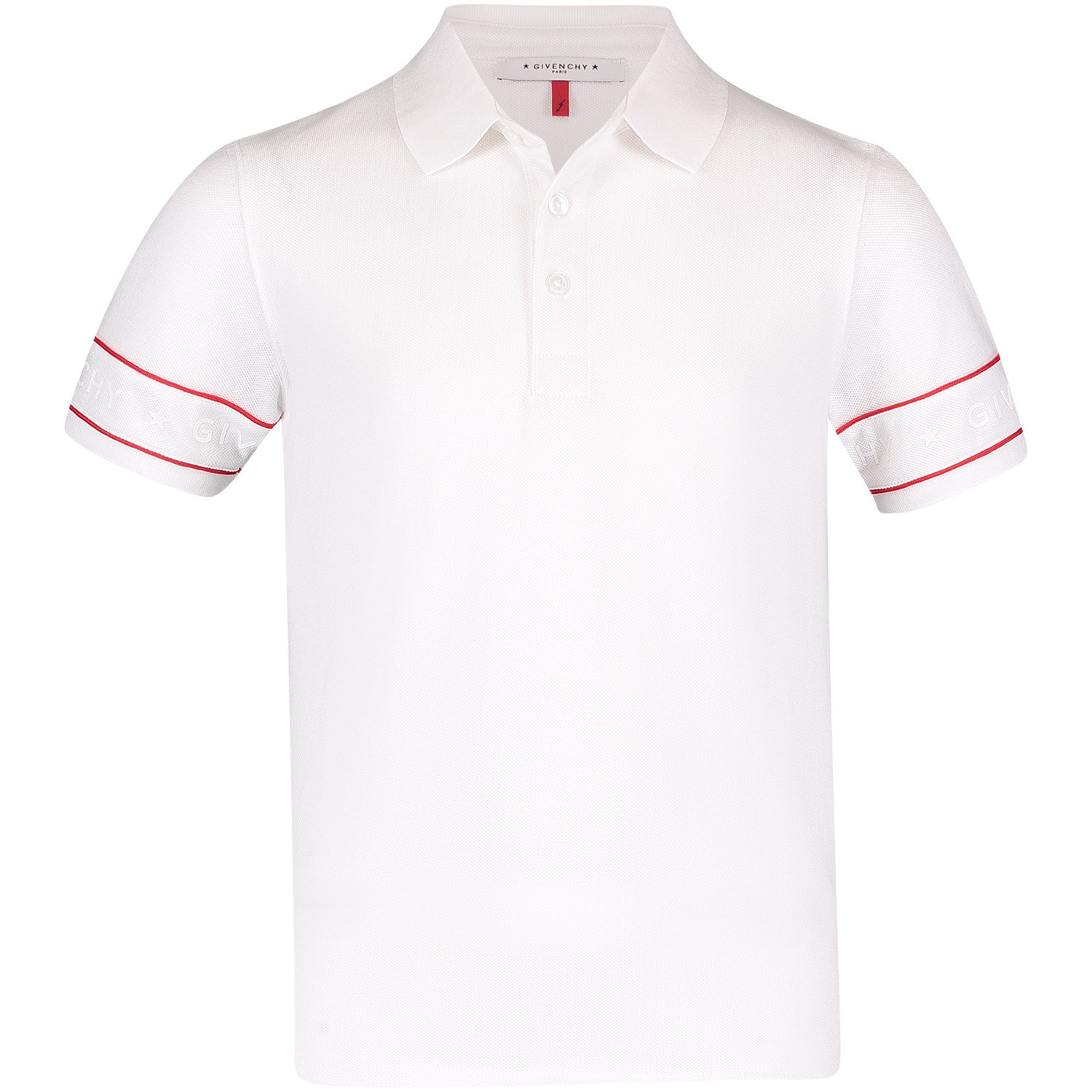 Afbeelding van Givenchy H25091 kinder polo wit