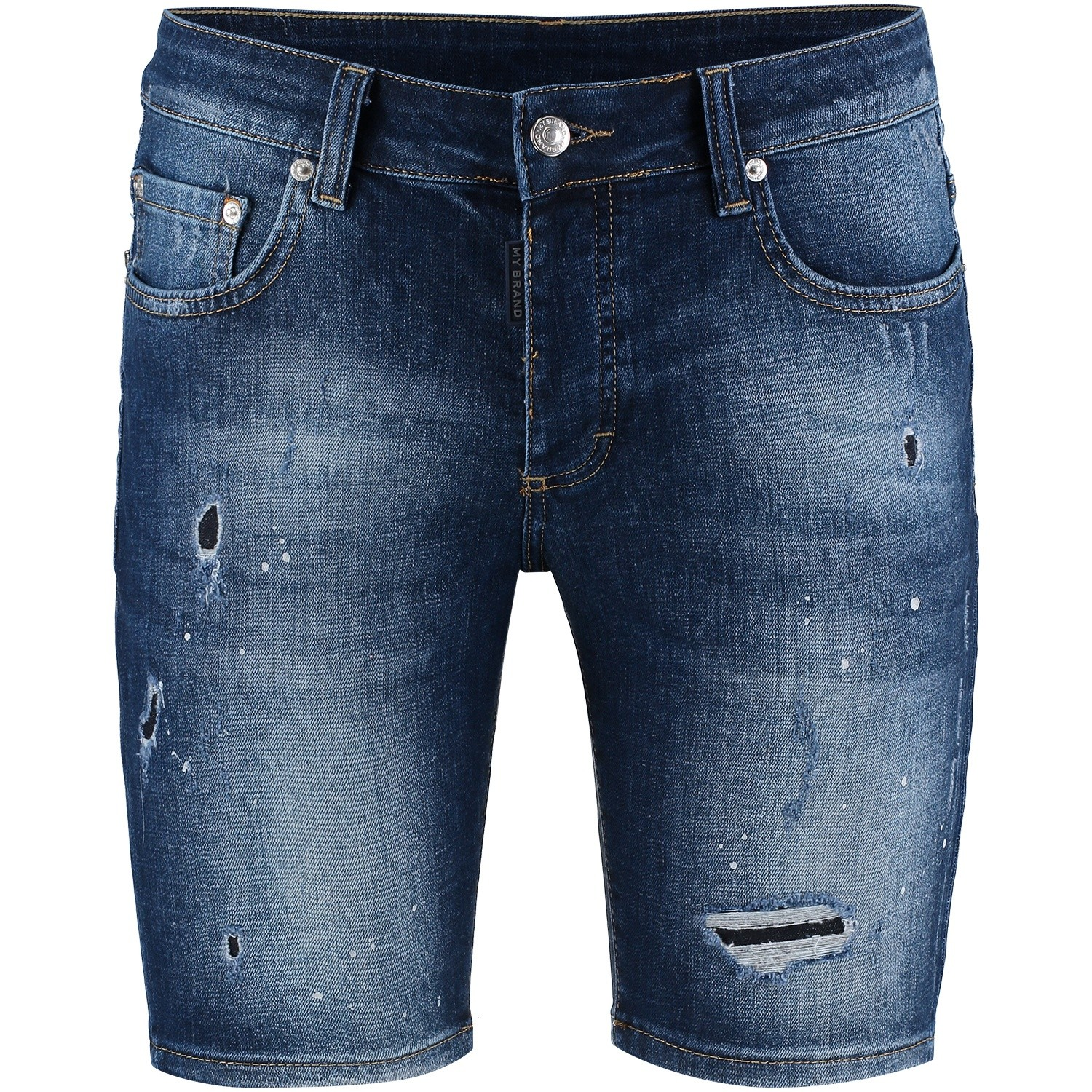 Picture of My Brand MMBJE007G3020 mens shorts jeans