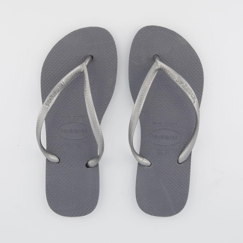 Afbeelding van Havaianas 4000030 dames slippers zilver