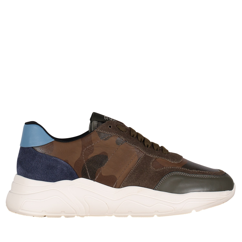 Afbeelding van Stokton 10U heren sneakers army