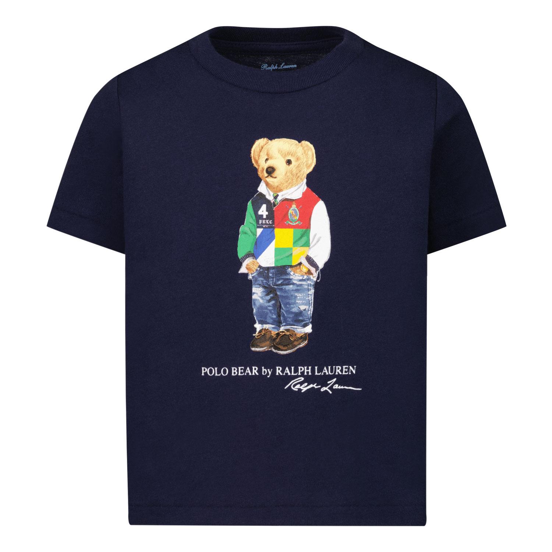Afbeelding van Ralph Lauren 320838244 baby t-shirt navy
