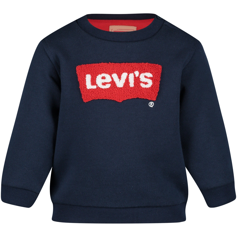 Afbeelding van Levi's NM15004 baby trui navy