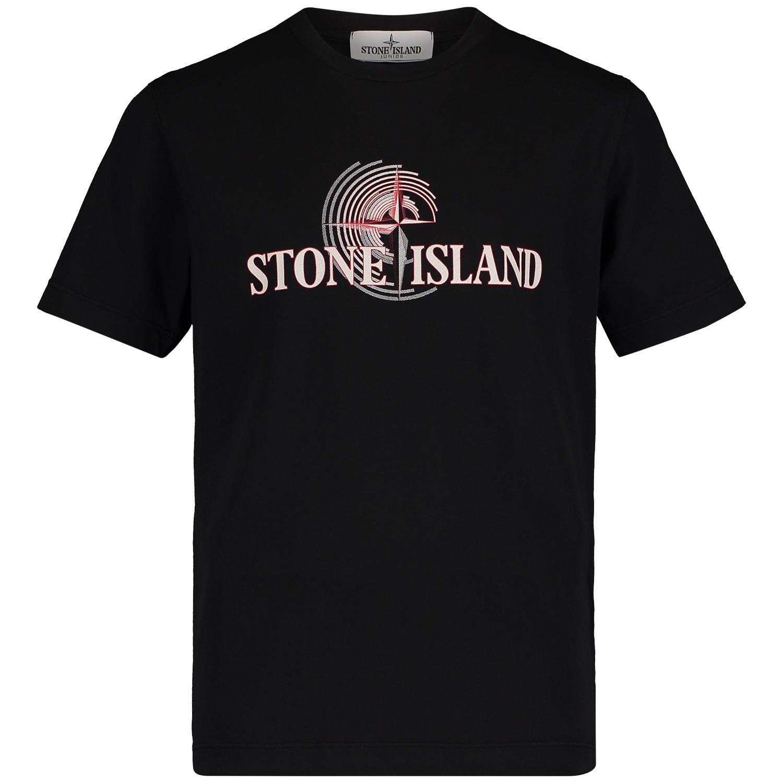 Afbeelding van Stone Island 701621455 kinder t-shirt zwart