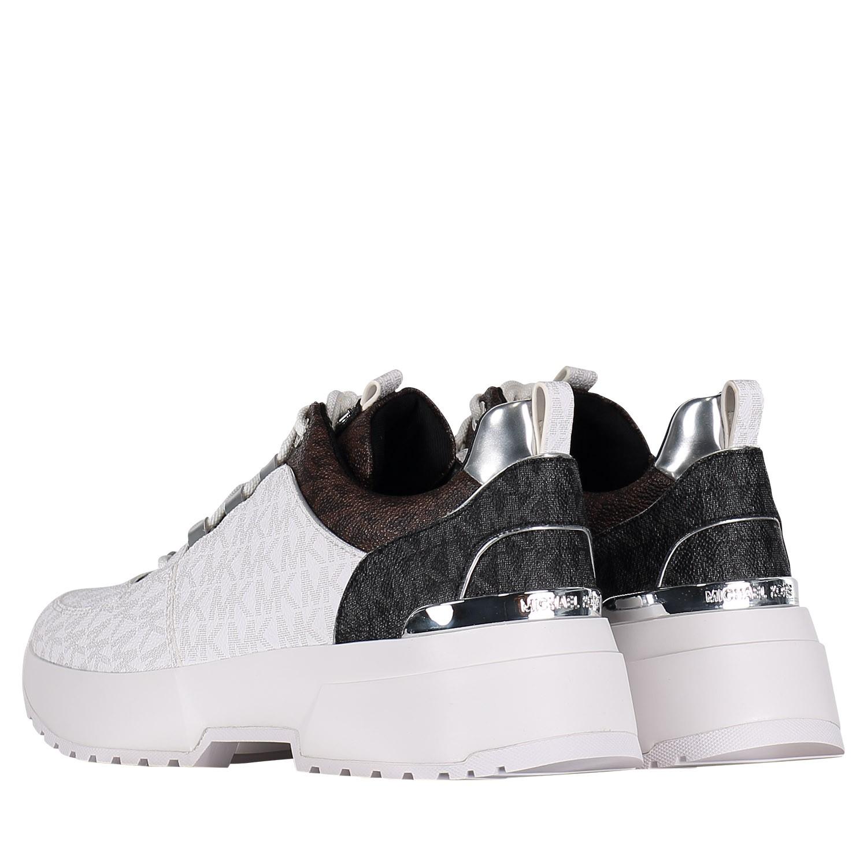 73a4f243ccd Michael Kors 43R9Csfs1Vpb dames dames sneakers wit bij Coccinelle