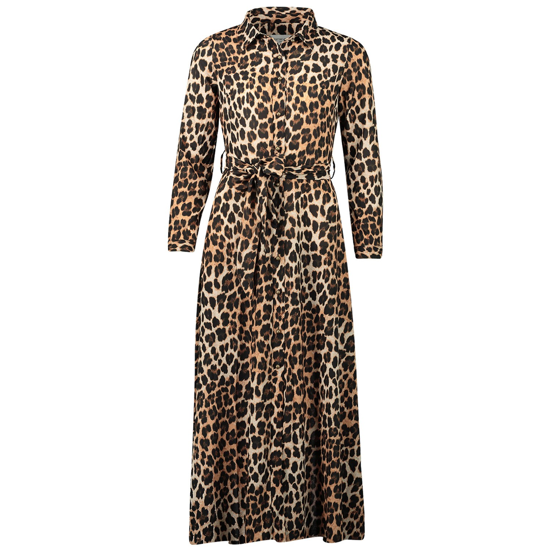 Afbeelding van EST'SEVEN EST LONGDRESS dames jurk panter