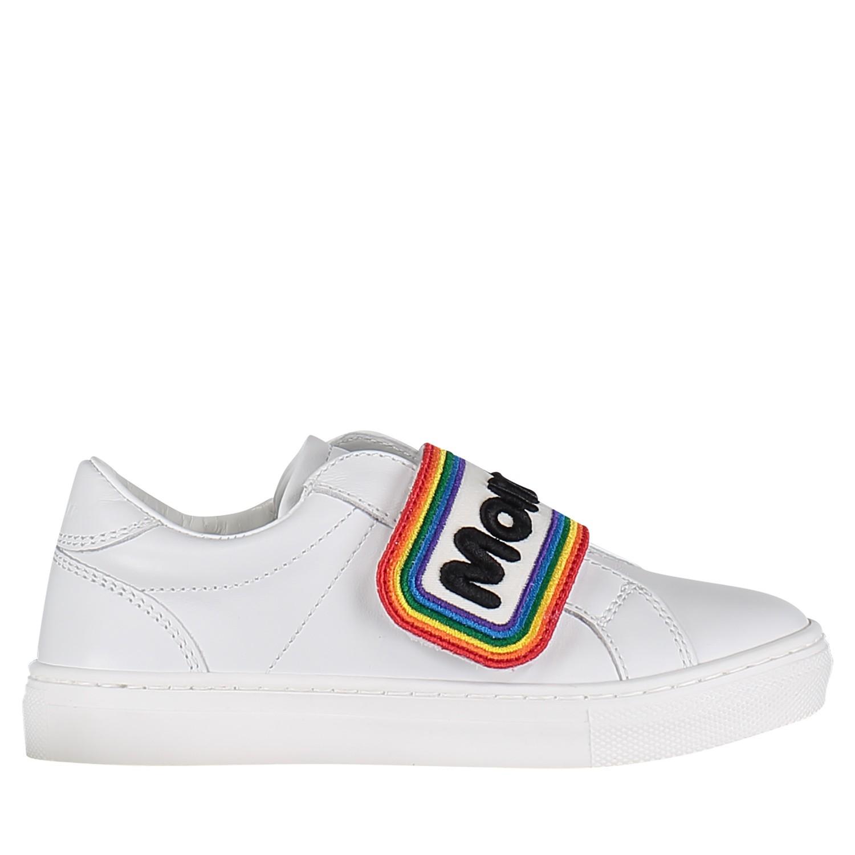 Afbeelding van Moncler MO0044900 kindersneakers wit