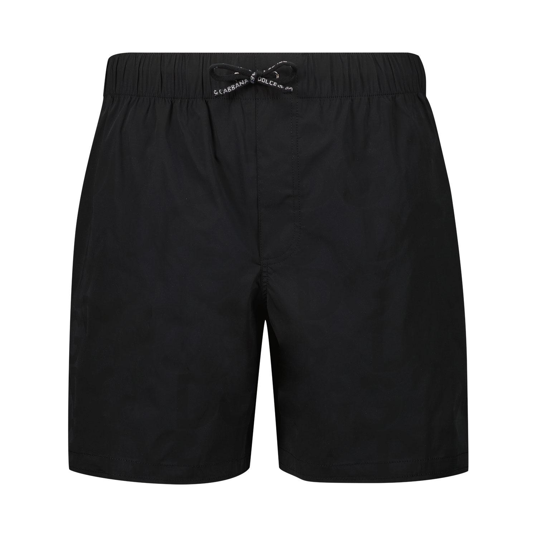 Afbeelding van Dolce & Gabbana L4J818 G7YHP kinder zwemkleding zwart