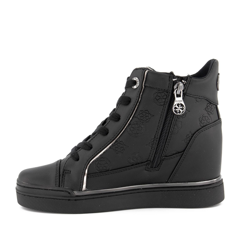 Guess FL7FABELE12 dames sneakers zwart