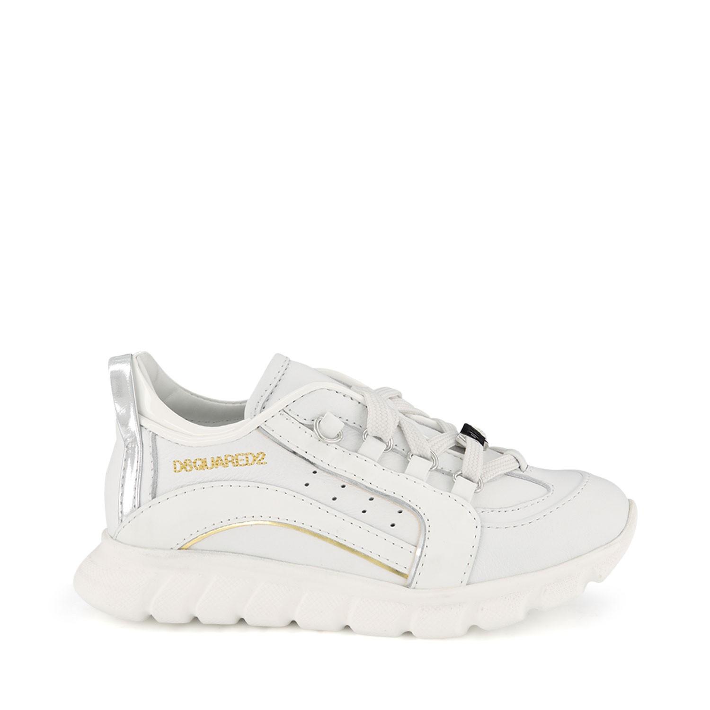 Afbeelding van Dsquared2 63513 kindersneakers wit