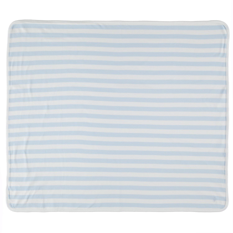 Afbeelding van Polo Ralph Lauren 735061 baby dekentje blauw