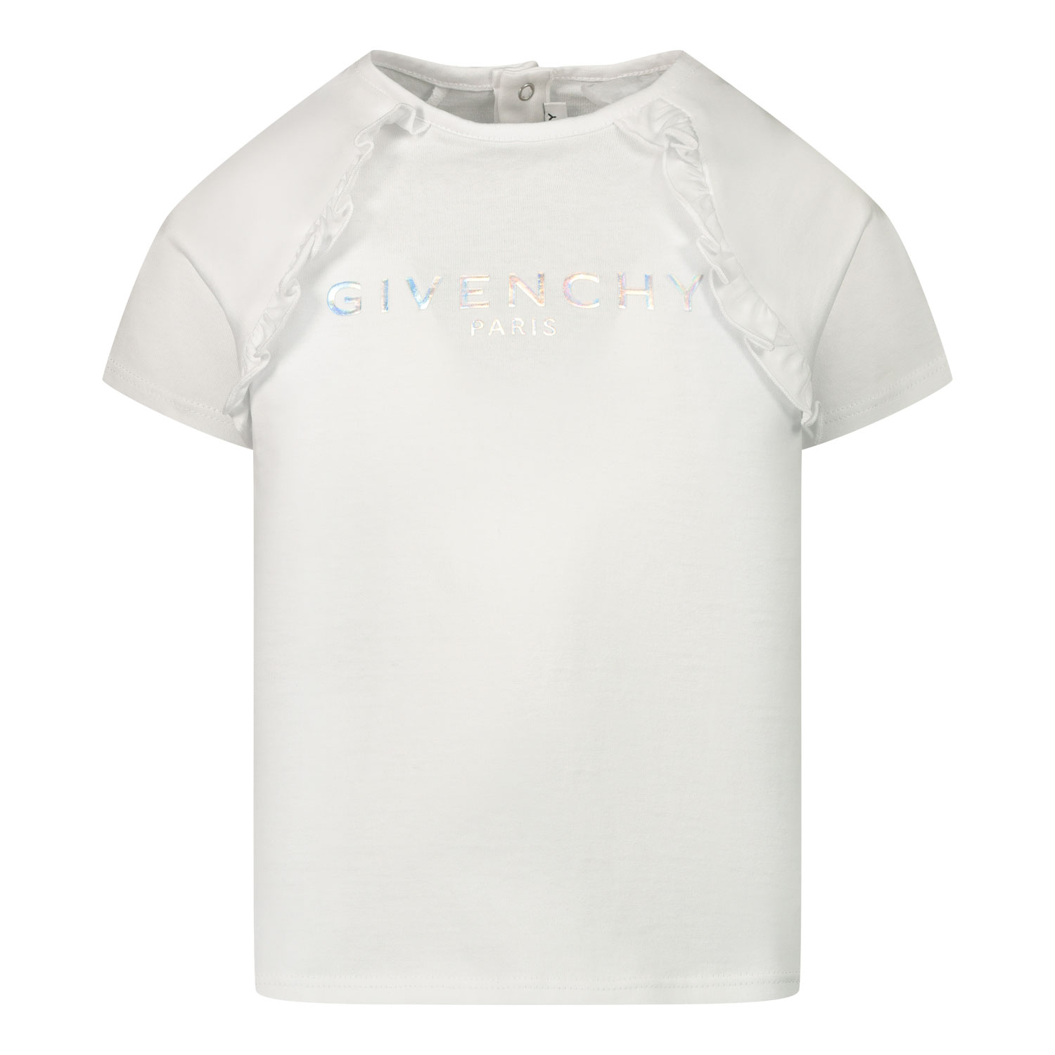 Afbeelding van Givenchy H05168 baby t-shirt wit