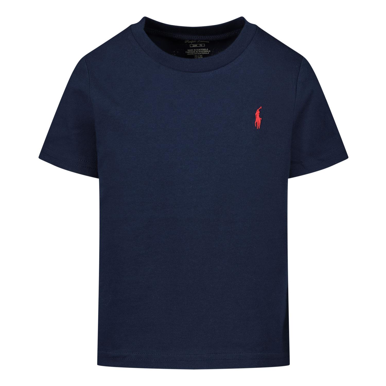 Afbeelding van Ralph Lauren 320674984 baby t-shirt navy