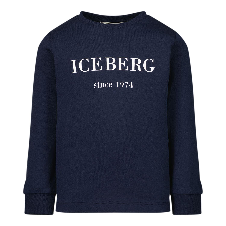 Afbeelding van Iceberg TSICE2300B baby t-shirt navy