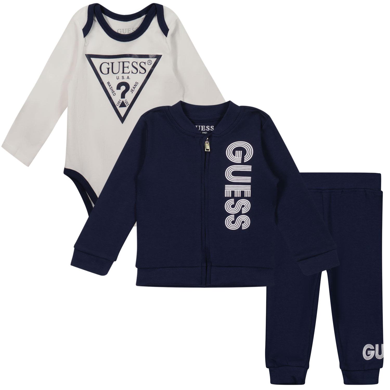 Afbeelding van Guess H1YW05 baby joggingpak navy