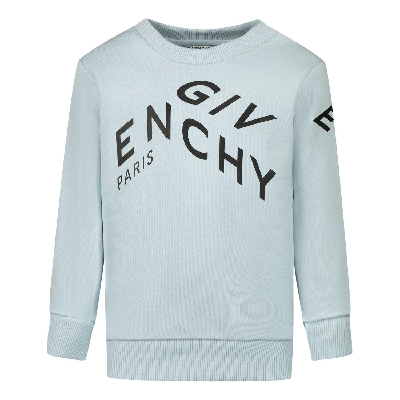 Afbeelding van Givenchy H05157 baby trui licht blauw